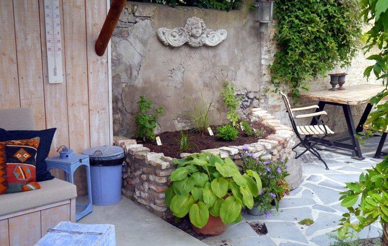 Idee kleine tuin ontwerpen voorbeelden galerij foto 39 s van binnenlandse en moderne - Idee decoratie terras ...